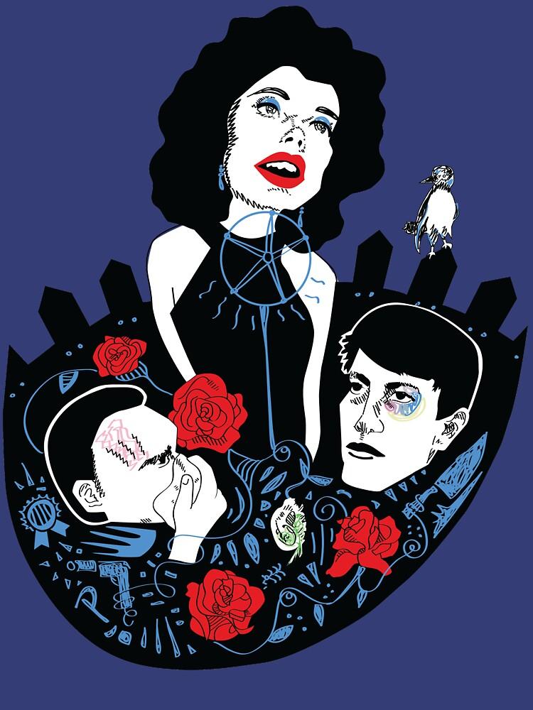 She Wore Blue Velvet  by marsenroute
