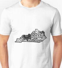 Kentucky Zentangle Unisex T-Shirt