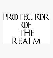Protector Of The Realm Photographic Print