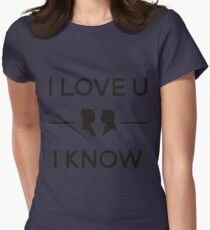 Star Wars - I Love You, I Know (Black) T-Shirt