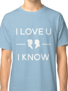 Star Wars - I Love You, I Know (color) Classic T-Shirt