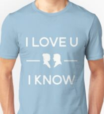Star Wars - I Love You, I Know (color) Unisex T-Shirt