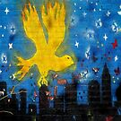 Yellowbird Wall #1a by Mark Ross