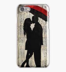 rainy day love iPhone Case/Skin
