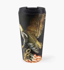 Land of the Free Home of the Brave Travel Mug