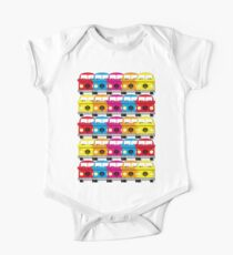 Campervan Multi Abstract No.1 One Piece - Short Sleeve