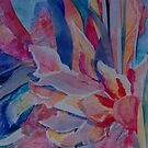 Pink Cannas by Carol Lee Beckx