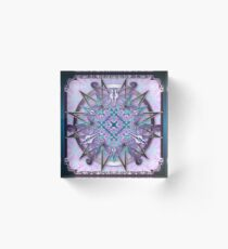 Butterfly Hex-001 Acrylic Block