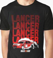 LANCER EVO VI - Tommi Makinen Graphic T-Shirt