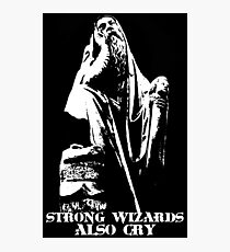 Strong Wizards Also Cry Photographic Print