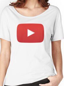 Youtube Logo Women's Relaxed Fit T-Shirt