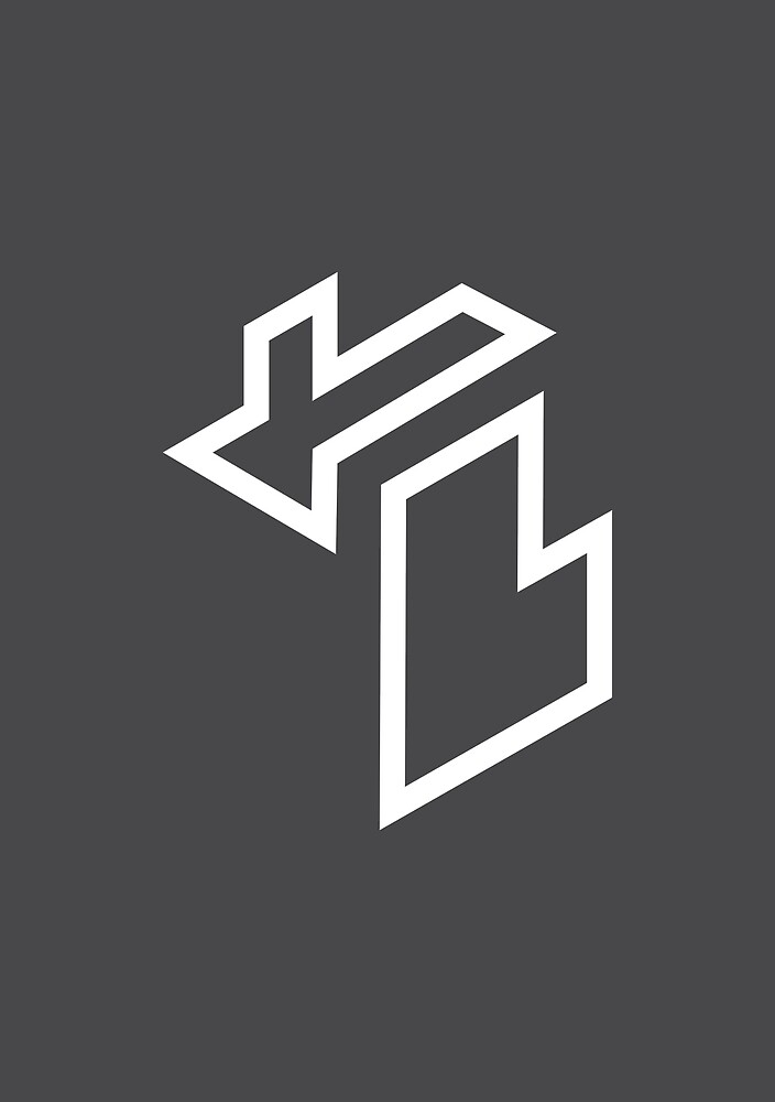 Isometric Michigan (Grey) by darumacreative