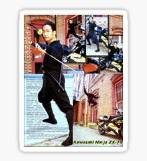 Paulino Sensei  武士 Sticker