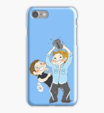 Jensen Ackles & Misha Collins - PCA iPhone Case/Skin