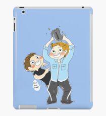 Jensen Ackles & Misha Collins - PCA iPad Case/Skin
