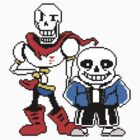 Undertale - Sans and Papyrus by keon huuuuuuuhwu