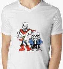 Undertale - Sans and Papyrus Men's V-Neck T-Shirt