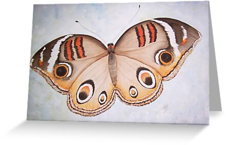 Butterfly Watercolour Painting by Heatherian