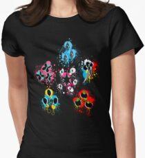 Mane Six Cutie Mark's Aura Splatter V2.0 Women's Fitted T-Shirt