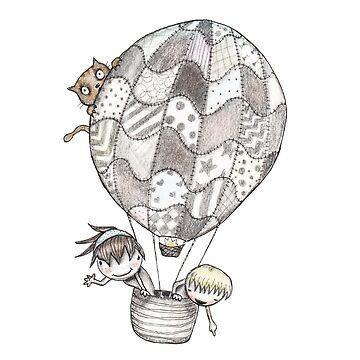 Balloon Cruising by caratoons