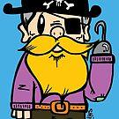 Captain Yella Beard by usagiartist