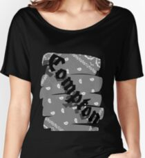 Compton Women's Relaxed Fit T-Shirt