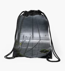 Lake of the Mist Drawstring Bag