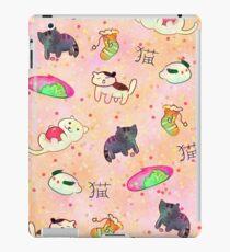 Kawaii Neko Atsume Pattern iPad Case/Skin