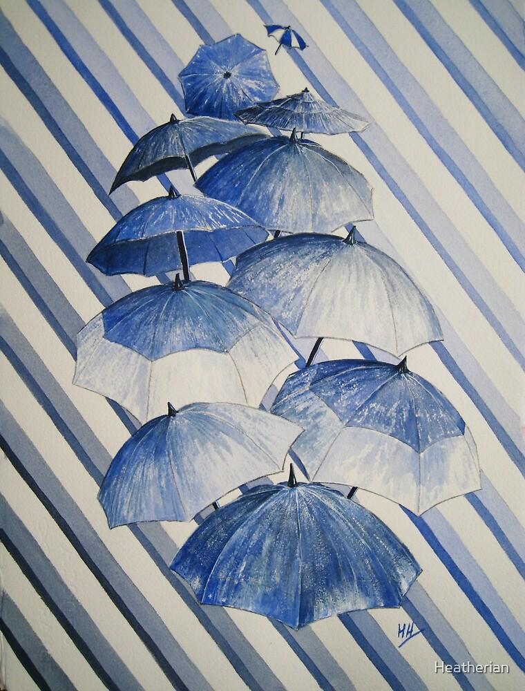 Umbrella Rainy Day Blues  by Heatherian