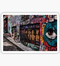 Hosier Lane Grafitti Sticker