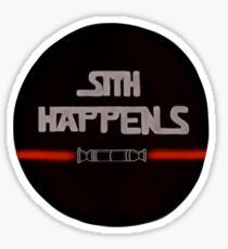 Sith Happens With Darth Maul Sticker
