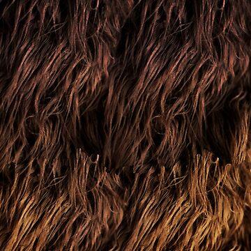 Star Wars - Wookie Fur  by fabulouslypoor