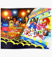 Sonic the Hedgehog live in concert! Poster