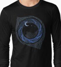Mondschein-Runde Langarmshirt
