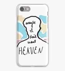 "Troye Sivan Blue Neighbourhood Abstract ""Heaven"" Lyrics iPhone Case/Skin"