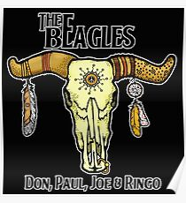 THE BEAGLES!! Don, Paul, Joe & Ringo! Poster