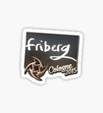 friberg - cologne 2015 Sticker