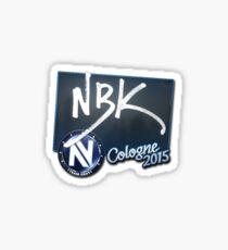 nbk - cologne 2015 Sticker
