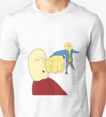 A punch to the FACE! Unisex T-Shirt