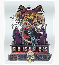Póster GHOULS'N GHOSTS