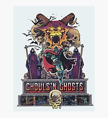 GHOULS'N GHOSTS Photographic Print