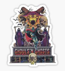GHOULS'N GHOSTS Sticker