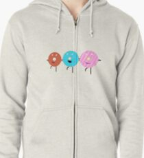 The Dokettes Zipped Hoodie
