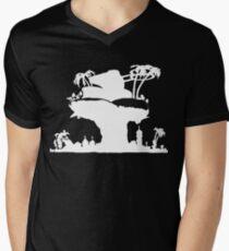 Gorillaz - Plastic Beach (Silhouette) T-Shirt