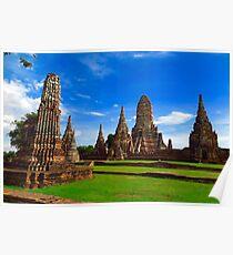 Ayutthaya Thailand Poster