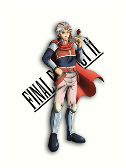 Carte Final Fantasy 2 Firion !!!