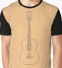 Guitar Typogram Graphic T-Shirt