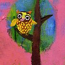 Owl in the Tree by Ollie Lett