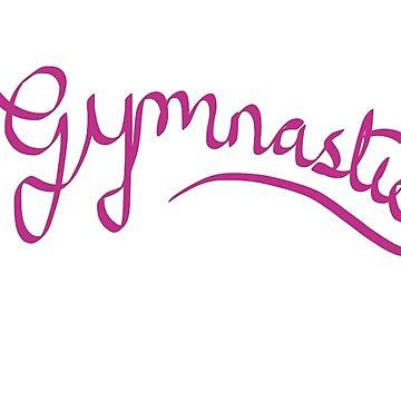 Gymnastics - Ribbon design by Llyrcial