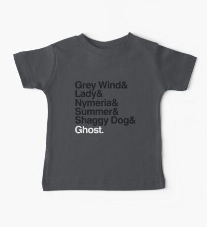 The Direwolves Kids Clothes